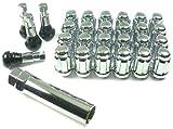 West Coast Accessories W56716S 7/16'' Spline Closed End Wheel Lug Nut Installation Kit - 6 Lug