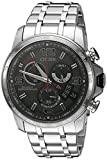 Citizen Eco-Drive Men's BY0100-51H Chrono-Time A-T Analog Display Silver Watch