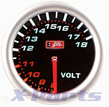 PLASMA Display Volt AutoGauge Volt Meter Volt display:
