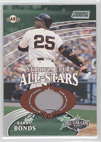 Barry Bonds #4410/4,800 (Baseball Card) 2002 Topps Stadium Club - All-Stars Relics #SCAS-BB