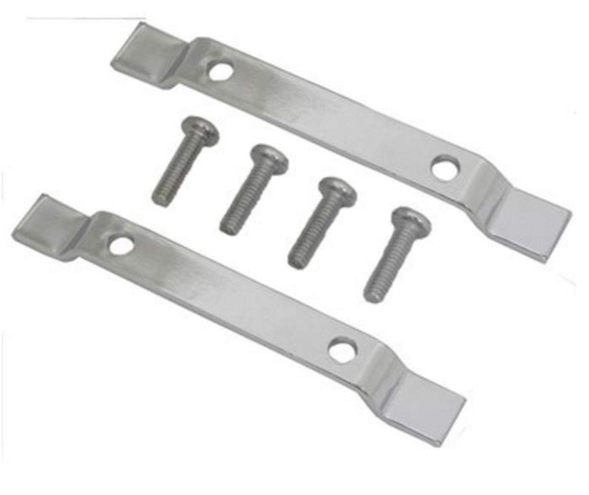Mustang Motorcycle Products Sissy Bar Pad Mounts Pair 78008
