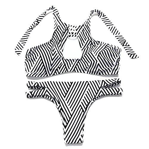 JOTHIN - Conjunto - para mujer rayas