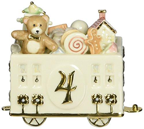 Lenox Fabulous Four Birthday Car (4 Age Porcelain Figurine)