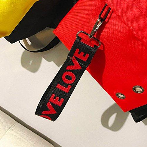 pour Sac à femme dos Rouge M Y56 au main porté Fqxfv