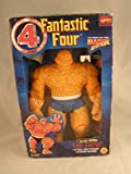 1995 TOY Biz, Inc. Toybiz Marvel Toy Biz Marvel Deluxe Edition Fantastic 4 the Thing 10 Inch Figure---10-inch Tall the Thing Action Figure TOY