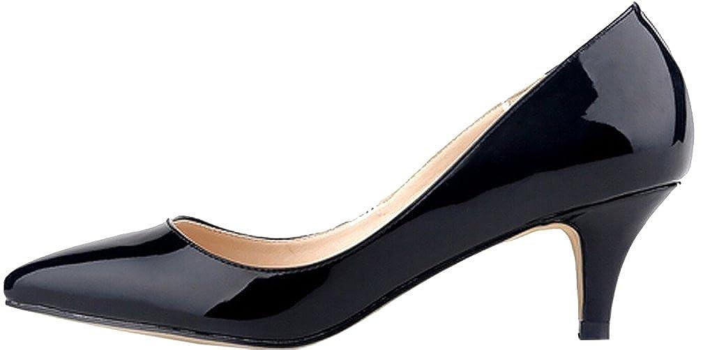 Calaier Damen Cahotel 5.5CM Stiletto Schlüpfen Pumps Schuhe Schuhe Schuhe 762e7c