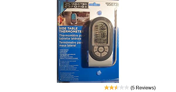 Amazon.com: Master Forge Digital Probe Meat Thermometer: Kitchen & Dining