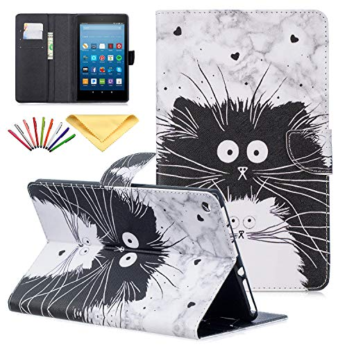 Uliking Cover for Amazon Kindle Fire HD 8 Tablet 8