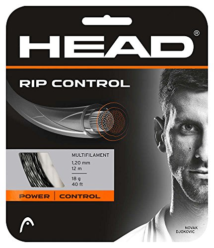 HEAD RIP Control Tennis String Set, 16g, - Strings Tennis