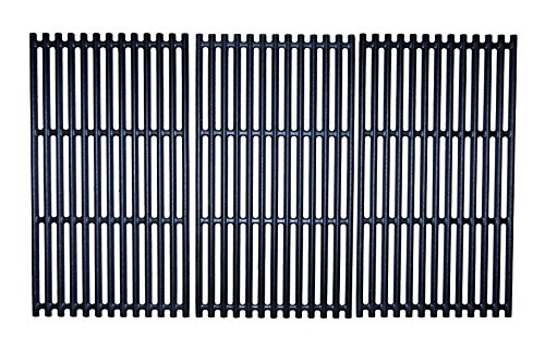 Music City Metals 69373 Matte Finished Cast Iron Cooking Grid for Select Charbroil Brand Gas Grills Griddles