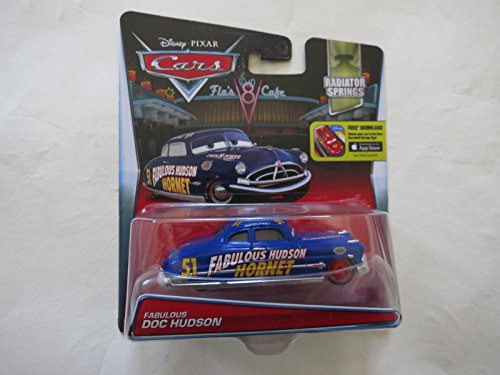 Radiator Springs Edition #3 of 14 Disney Cars Doc Fabulous Hudson Hornet Radiator Springs Edition Mattel 1:55 Scale