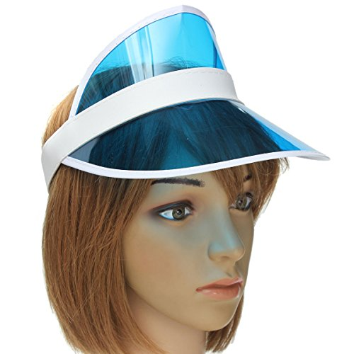 Sun Visor Hat, LOPEZ Unisex Sun Visor Poker Hat Uv Protection Hat Golf Neon Tennis Cap Headband - (1980 Fancy Dress Outfits)