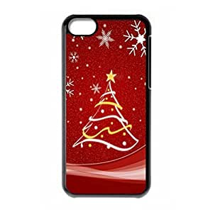 Merry Christmas Tree hard PC back case for iPhone 5c