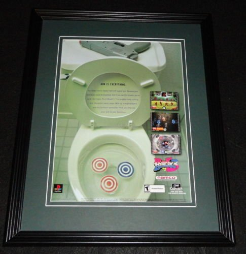 2000 Point Blank 3 Framed ORIGINAL Vintage Advertisement Playstation ()