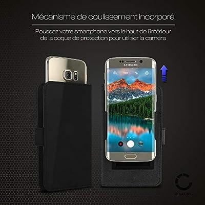 CELLONIC® Funda de teléfono móvil para Smartphone de Medidas 16.3 ...
