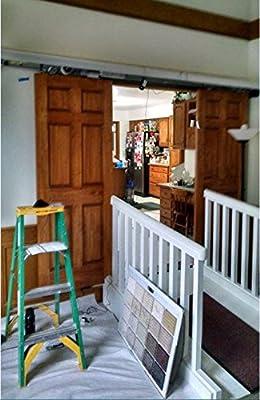 Automático Único/doble Panel puerta corredera, automática corredera de cristal puerta: Amazon.es: Bricolaje y herramientas