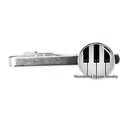 Pipa de corbata de piano, con clip, para música, piano, teclado ...