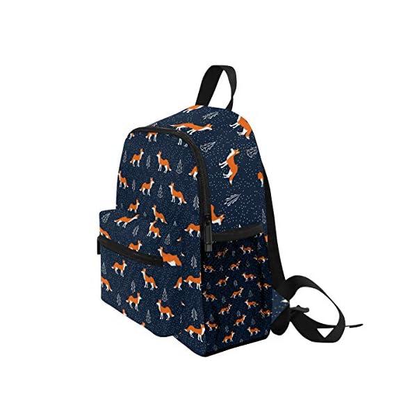 Foxes - Zaino da scuola per bambini e ragazze per bambini, 3 – 8 anni, colore: Blu 3 spesavip