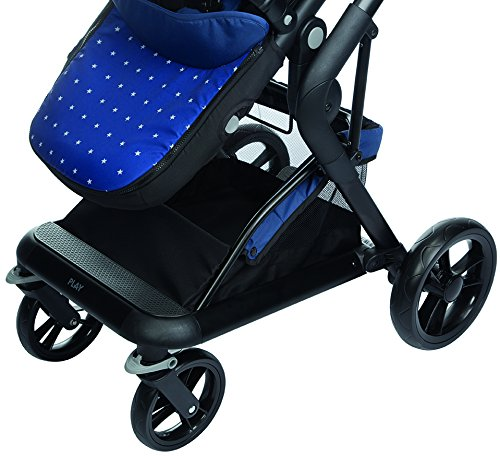 color azul blue stars Play Indie Silla reversible