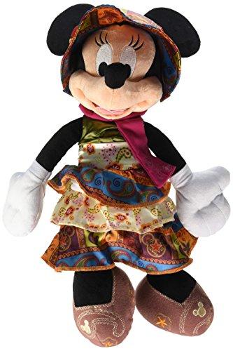 Disney Parks Minnie Mouse Bohemian Plush Doll
