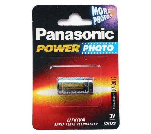 Panasonic Power Photo Cr123 Battery - Pack Of 10