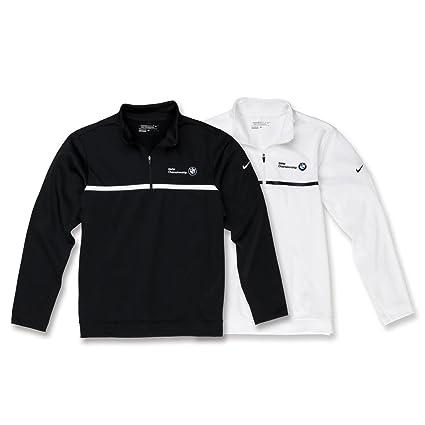 1f9c1f574453 Amazon.com  BMW Genuine Nike 1 2 Zip Sweater Therma-Fit fleece Pullover   Automotive