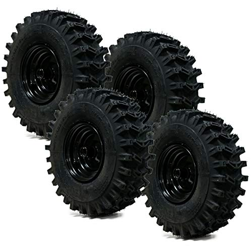 4PK 15x5.00-6 Carlisle X-Trac 2PR Snow Blower Tire & Wheel Assembly Snow Hog
