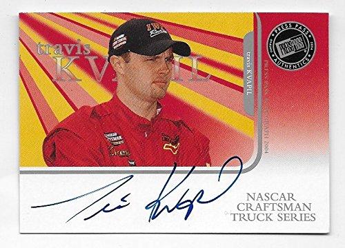 - Travis Kvapil NASCAR 2004 Press Pass Authentics auto Autograph