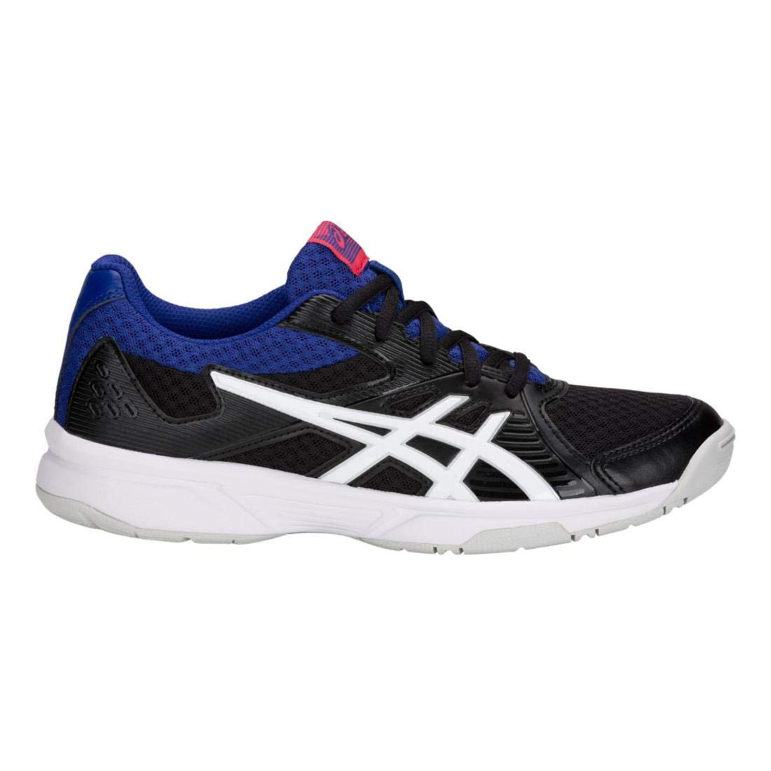 ASICS Women's Upcourt 3 Volleyball Shoes, Black/White, Size 7.5 by ASICS