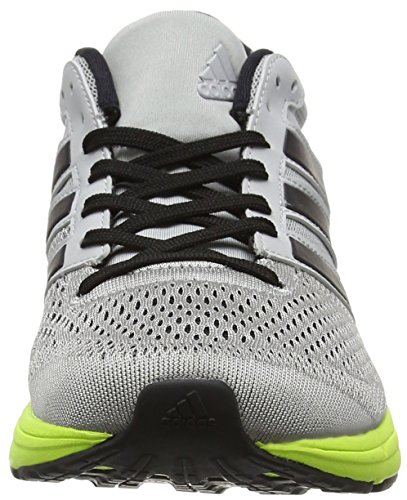 Chaussures De grey 6 Boston Black Femme solar Yellow Two Running Adizero Gris Adidas core W UwqTEIqX