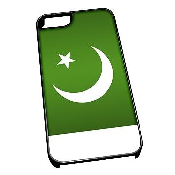 Schwarz Cover Fur Iphone 5 5s 0474 Pakistan Flagge Amazon De Kuche