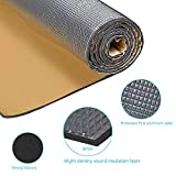 Guteauto 236 mil 15 sqft Sound Deadening Deadener Insulation Mat Automotive Deadener Wall