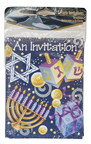 Hanukkah Party Invitations (Hanukkah Party Invitations)