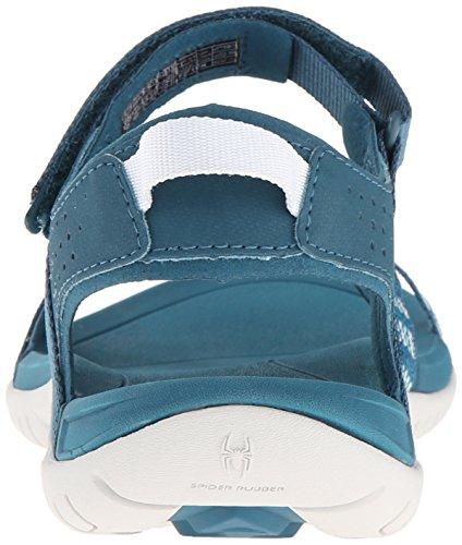 Teva Delle Donne Verra Strisce Moderni Sandalo Blu