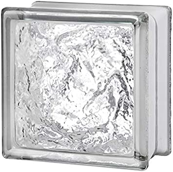 Pack of 10 Ice Glass Block Seves 5002851 6 x 6 x 3 in