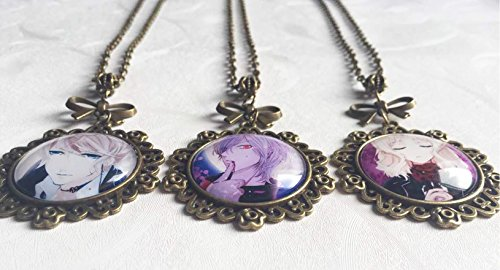 Dreamcosplay Anime Diabolik Lovers Symbol a Set of 3 Necklaces Cospaly by Dreamcosplay (Image #2)