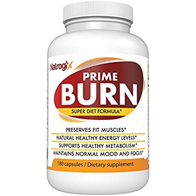 Natrogix Super Fat Burner for Weight Loss, Muscle building, Metabolism Boosting, Focus Enhancing, with Raspberry Ketone, Green Coffee Bean, Garcinia Cambogia & Green Tea Extract