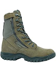 Belleville 612Z Hot Weather Side Zip Tactical Boot, Sage Green