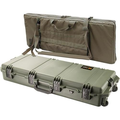 Pelican Storm Cases IM3100 Case, OD Green w/Coyote Tan Field