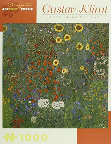 Gustav Klimt Cottage Garden 1,000-piece Jigsaw Puzzle