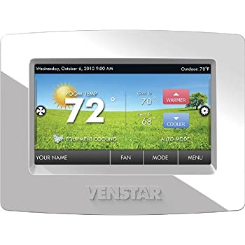 How to unlock venstar thermostat t2900 — pic 2