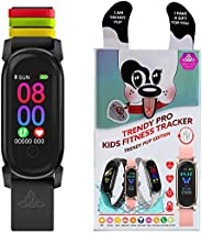 Kids Fitness Tracker Activity Tracker for Kids - Waterproof Smart Watches for Girls Boys Digital Kids Alarm Mo