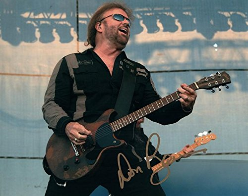 38 Special Don Barnes Autographed Signed live Guitar sunglasses happy Photo - Sunglasses Barn's