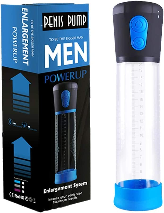Men's Pennis Enlargement Battery Powerful Extender Pumps Vacuum Pump for Male Increase Delay Trainer Man Relax Toy