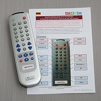 Service-mando a distancia para LG LM-Series (LM660S, LM669S, LM670S, LM760S, LM860V, LM960V): Amazon.es: Electrónica