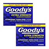 Goody's Headache Powders Pain Reliever Extra Strength - 50 ct, Pack of 2
