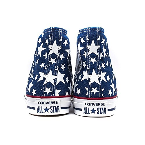 Converse Chuck Taylor All Star High MIDNIGHT HOUR WHITE STARS Fresh Colors Limited Edition 147118C UNISEX Blau