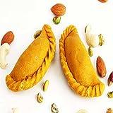 Ghasitaram Gifts Sugar-free Mawa Kesar Gujiya (200 gms)