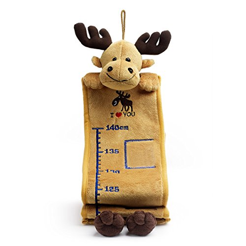 Bear of Allan Stuffed Animal Growth Chart 65 Inch (Gold Moose)