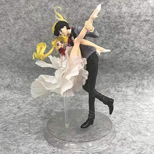 MCGMXG Sailor Moon Anime Statue Moon Hare Static Statue Toy 14CM Toy Statue